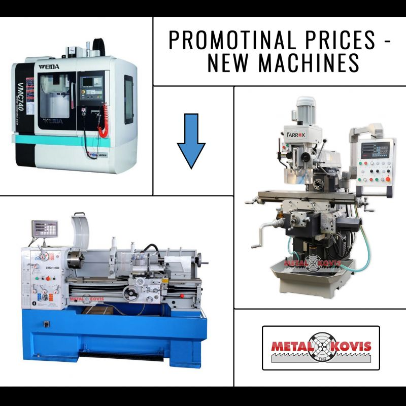 Promotinal Prices - New Machines