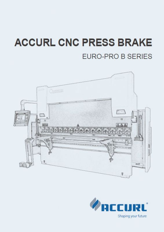 ACCURL CNC PRESS BRAKE EURO PRO B SERIES