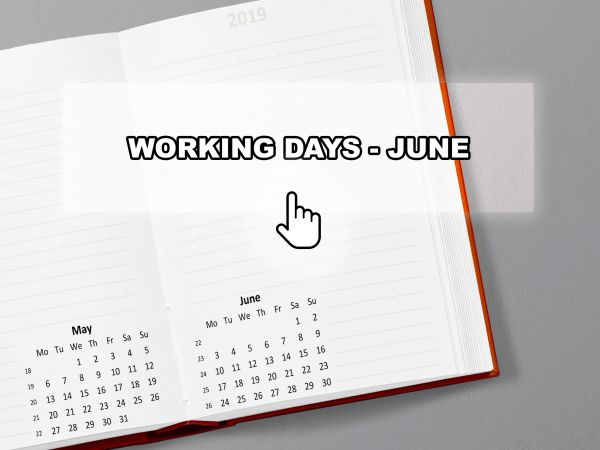 Working Days - June