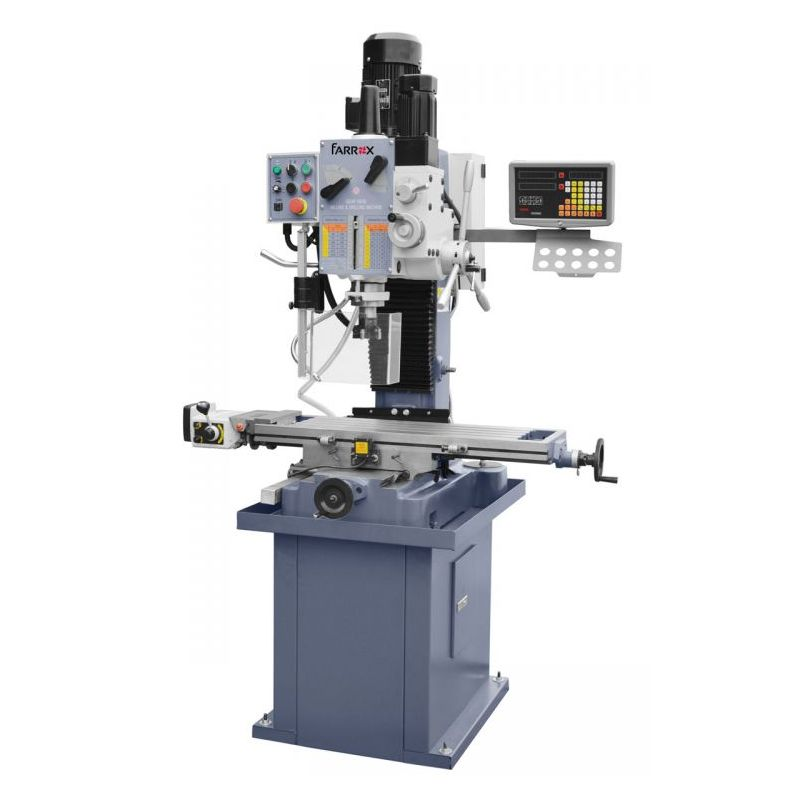 Drilling mch.ZX7045B1 380V,50Hz,3ph lamp,coolant,big table,stand,DRO,power feed Price