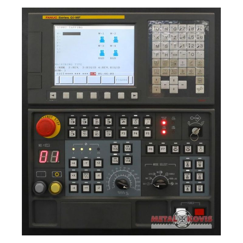 VMC1000 + Fanuc 0i-MF Type 5 + 4 axis Price