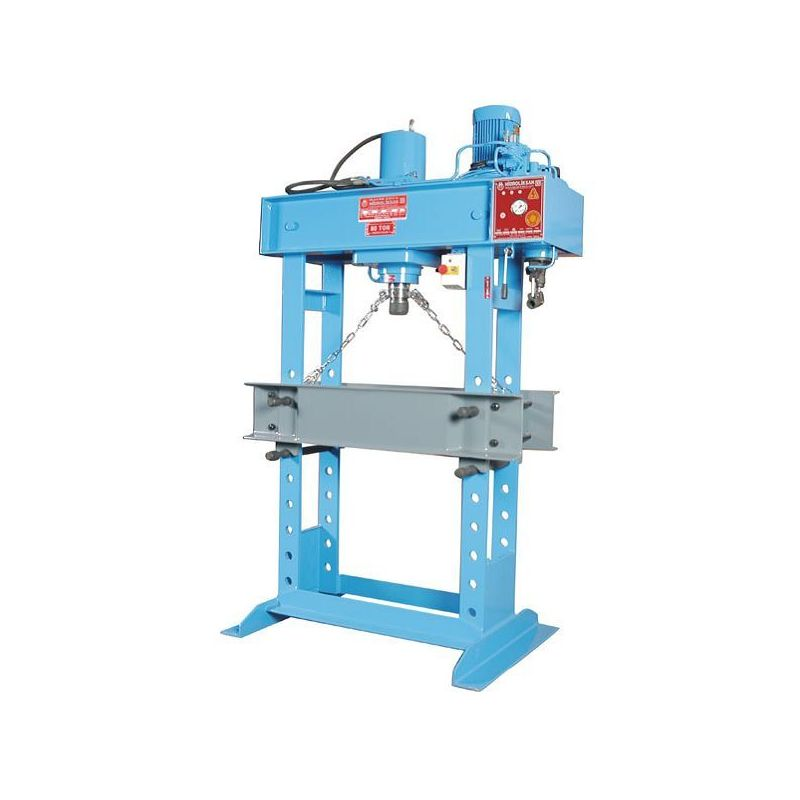 Workshop Type Hydraulic Press HD80 Ton Motor Operated Price