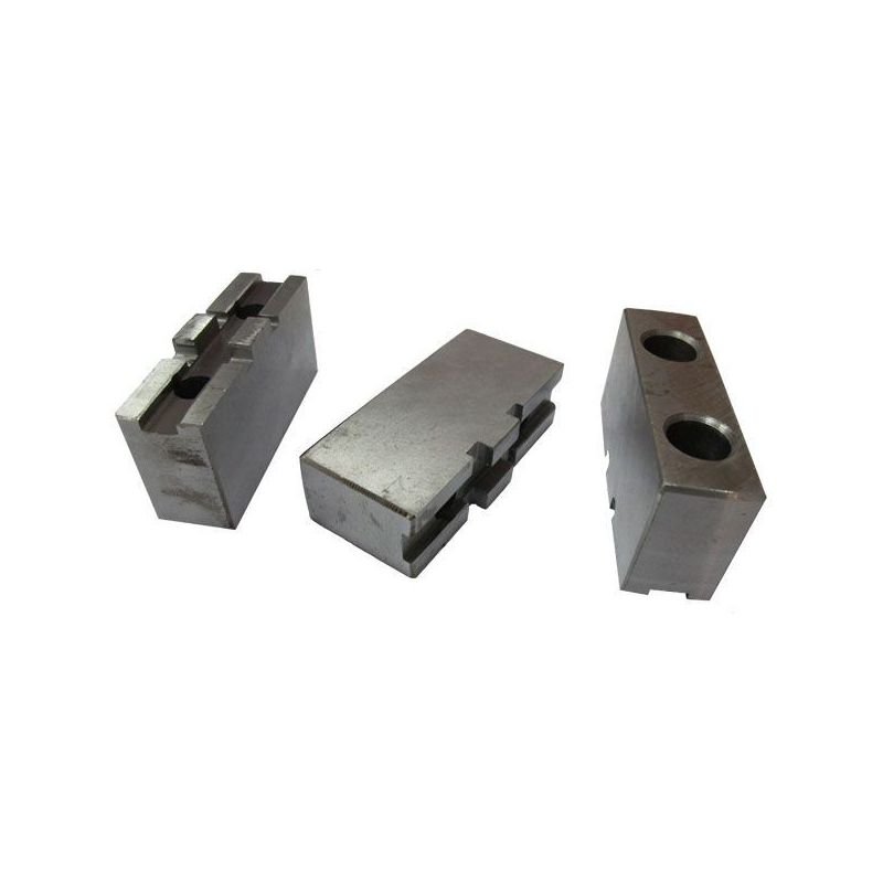 S4093200 Spare Top Soft Jaw 3 Pc set for Lathe Chuck 200MM Price