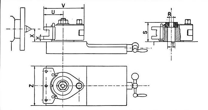 Glava s 3 nosača alata Multifix A