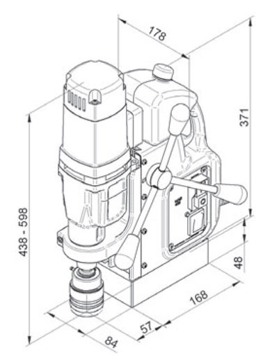 Magnetna bušilica BDS MAB 455