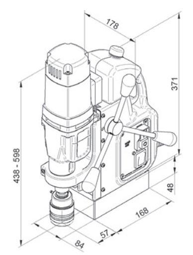 Magnetna bušilica BDS MAB 455 SB