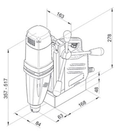 Magnetna bušilica BDS MABasic 400