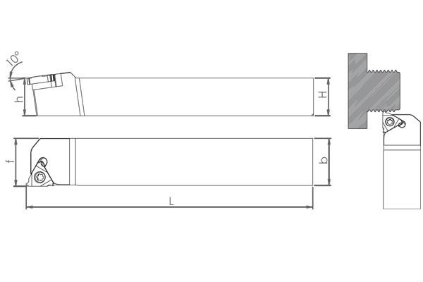 Držač pločice SER 1616 H16