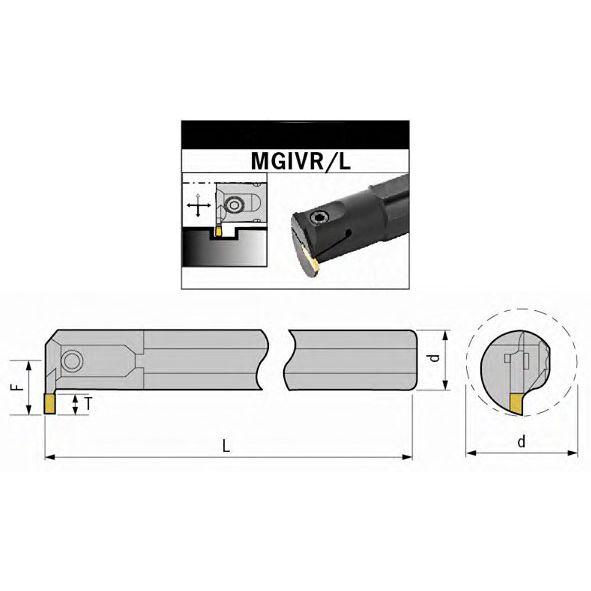 Nosač pločica, lijevi, MGIVL 2520-3