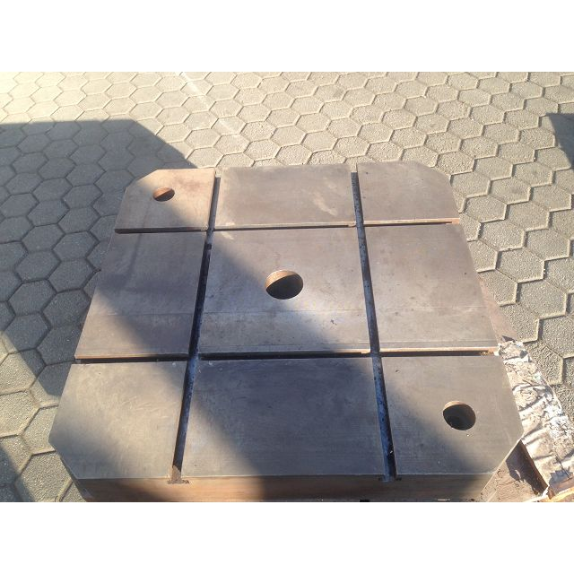 Stol za glodalicu 600x600 mm