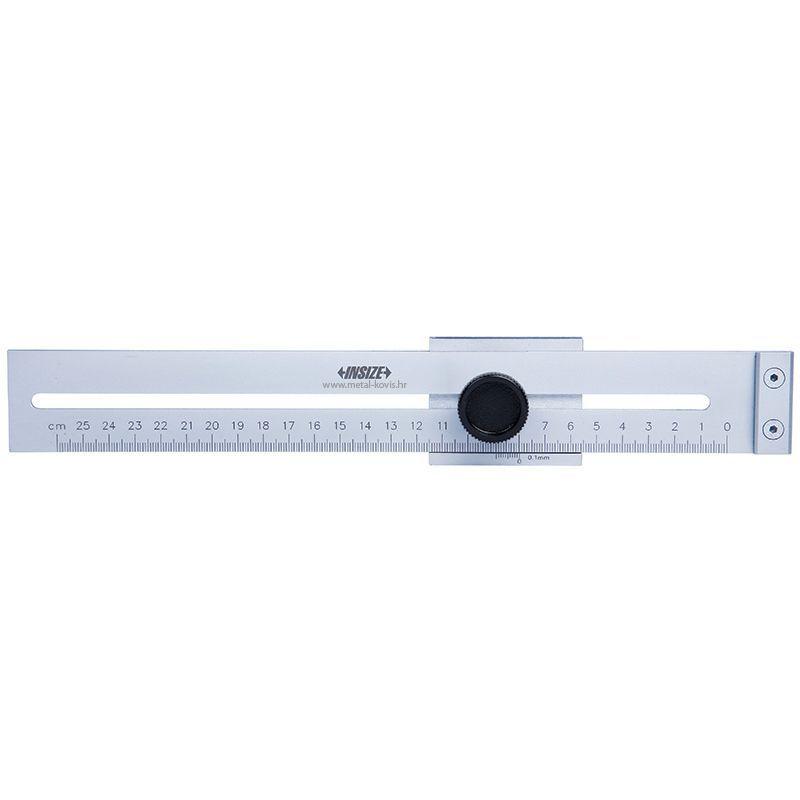 Mjerilo za ocrtavanje, 0-300 mm