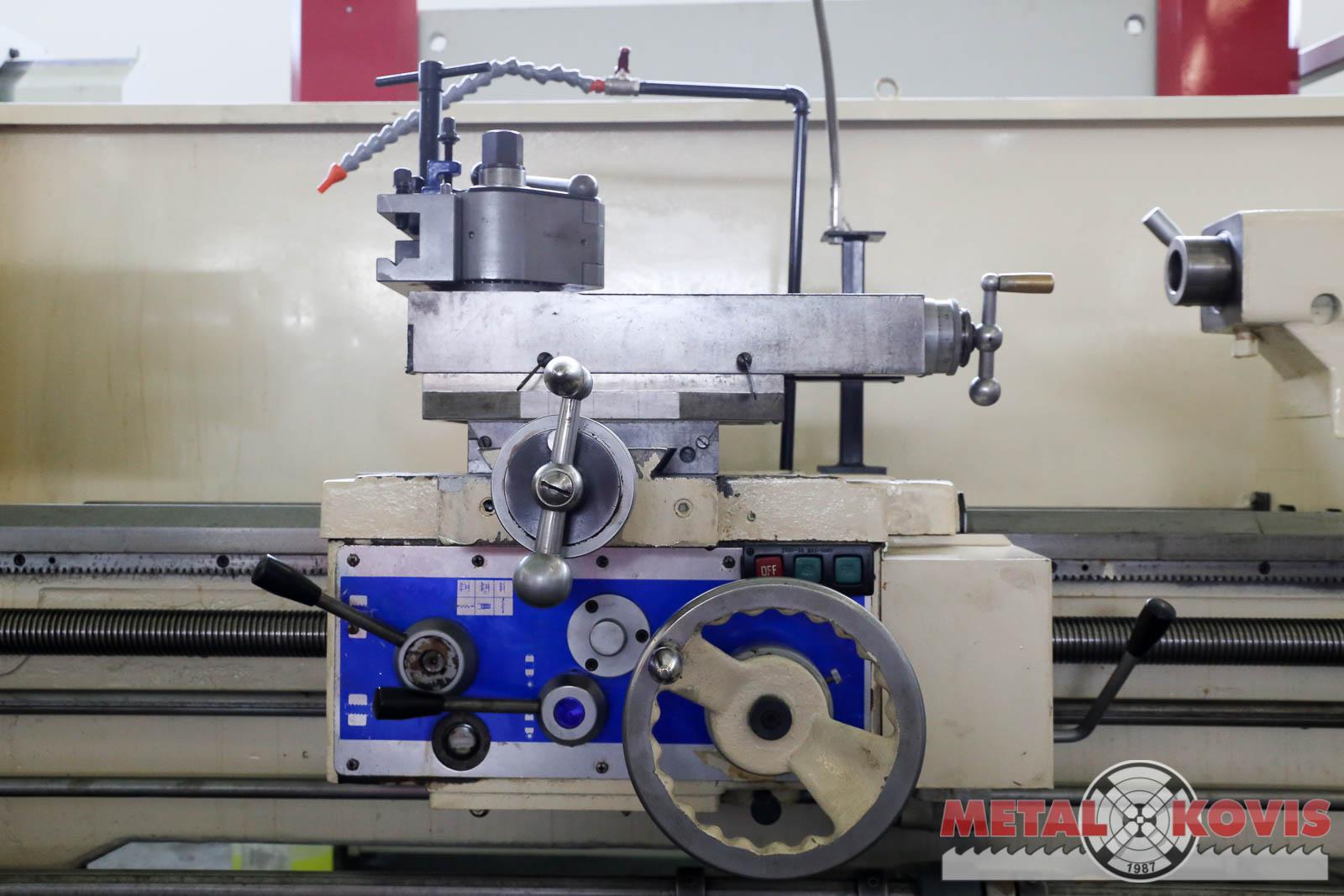 Tokarski stroj Vector 600x2000 mm s provrtom u vretenu Ø105 mm