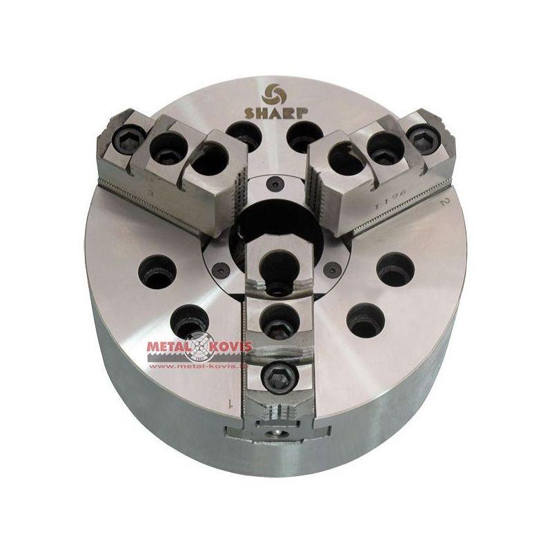 Stezna glava (amerikaner) CNC Ø250, 3 pakne s A2-6 prirubnicom