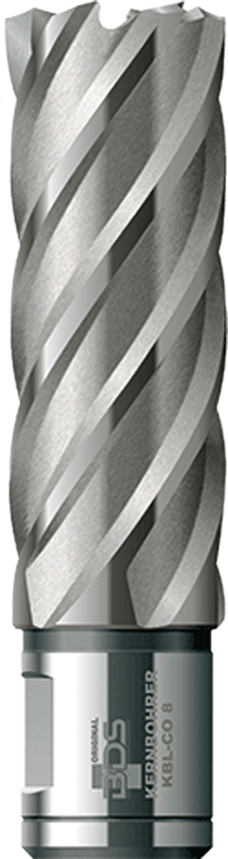 Kernborer Ø25 mm, L=50 mm, HSS-Co, BDS