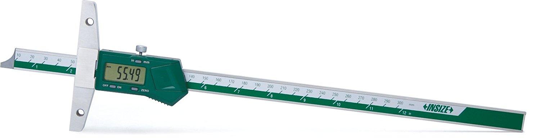 Dubinomjer - digitalni, s rupama za učvršćenje, 0-300 mm