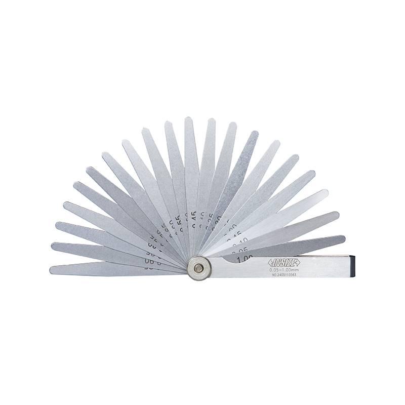 Listići za provjeru zračnosti, 0,03 - 1,00 mm