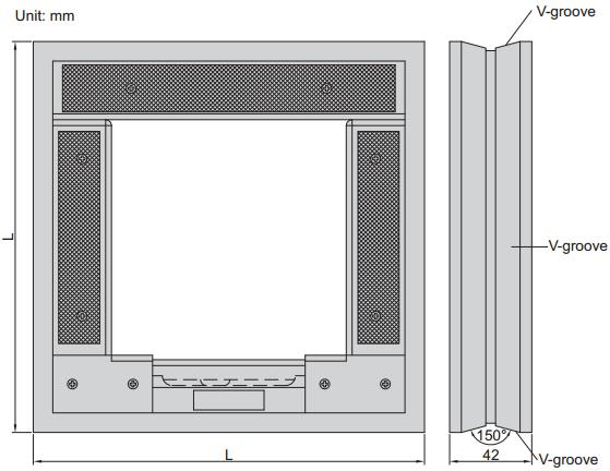 Vaga za niveliranje - strojna, 200 mm
