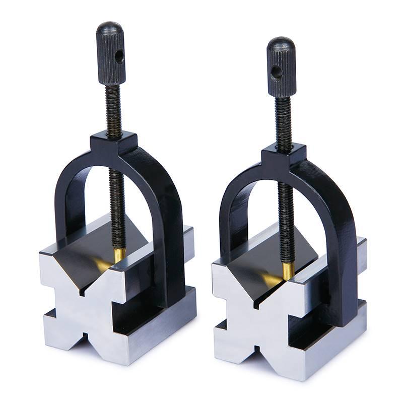 V-blok, 100x80x80 mm, set, Insize