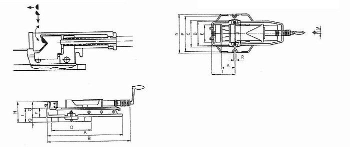 Hidraulični škripac HW-125