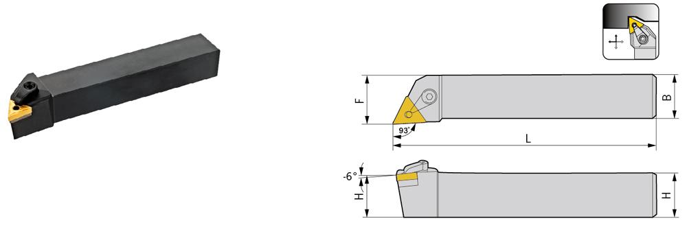 Nosač pločica MTJNR 2525 M22