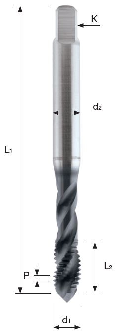 Ureznik T304XR M14, KP60