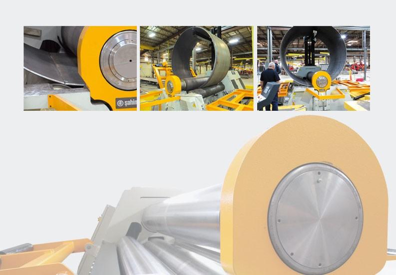 Valjci za savijanje lima s kranom 4R HSS 25-500