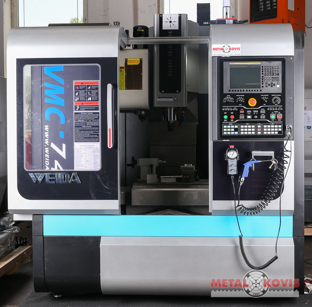 VMC740 + Fanuc 0i-MF Type 5 + 4th axis Price
