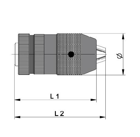 Samostezna glava (Borfuter) CKX 1-13 mm, Llambrich