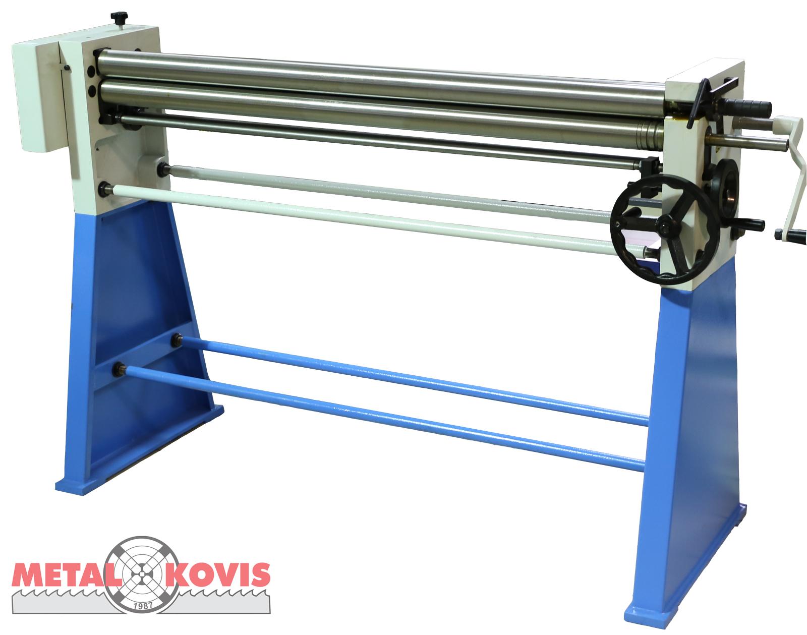 Valjci za savijanje lima - ručni W01-2×1000