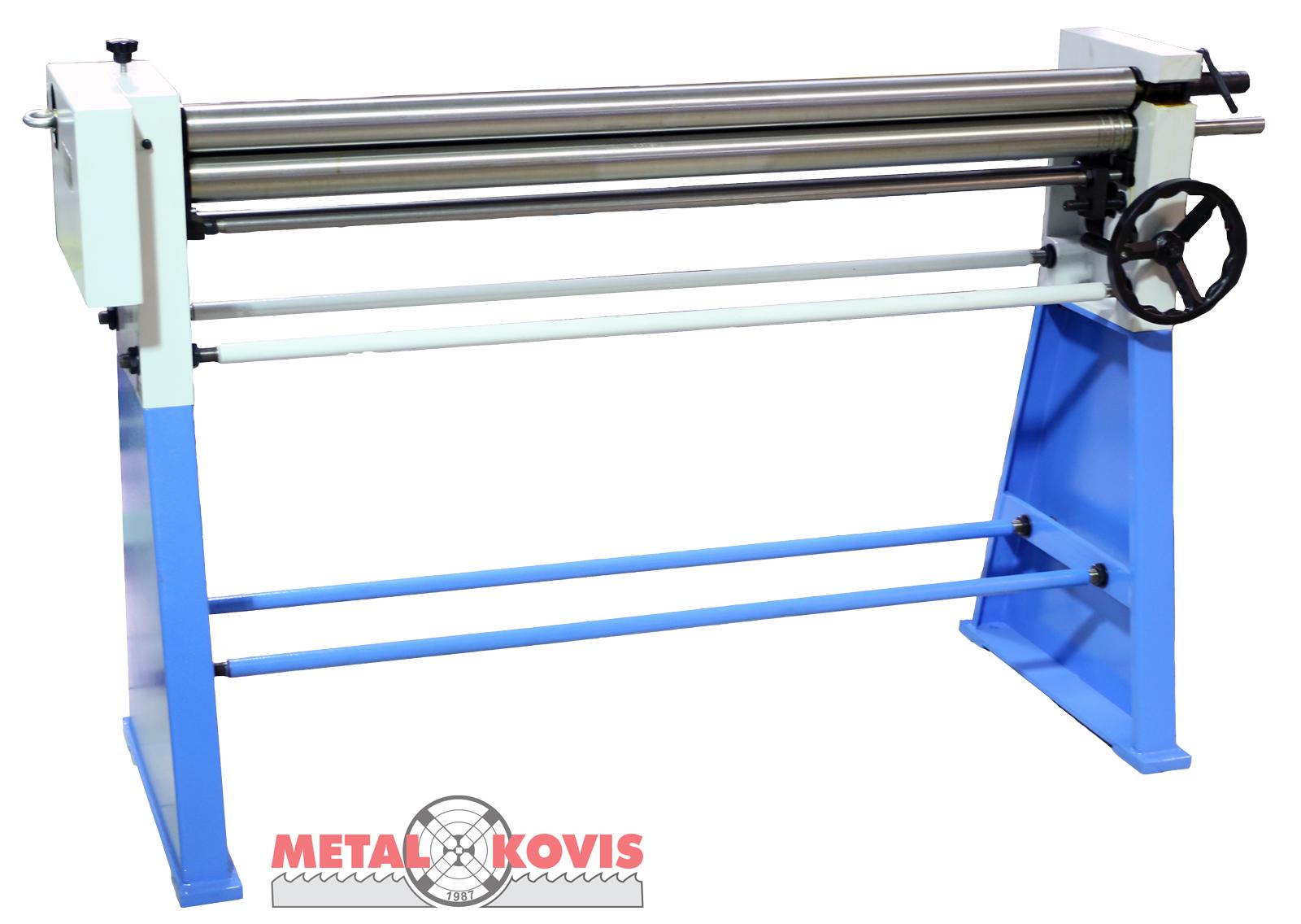 Valjci za savijanje lima - ručni W01-2×1250