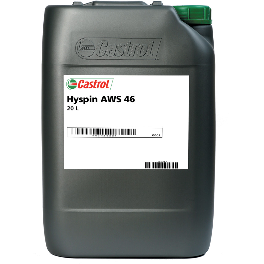 Hidrauličko ulje Castrol Hyspin AWS 46, 20l pakiranje