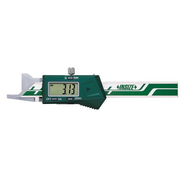 Pomično mjerilo za mjerenje skinutih bridova - digitalno, 0-10 mm, 45°