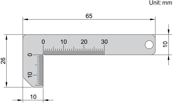 Etalon za mjerenje kuta