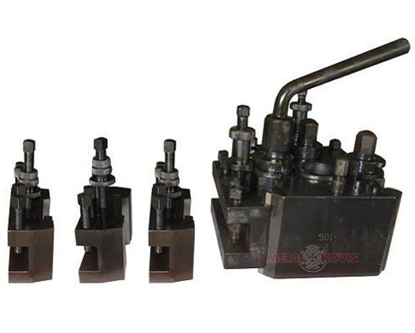 Brzoizmjenjiva glava za tokarski stroj 501-D s 4 držača alata 502-D