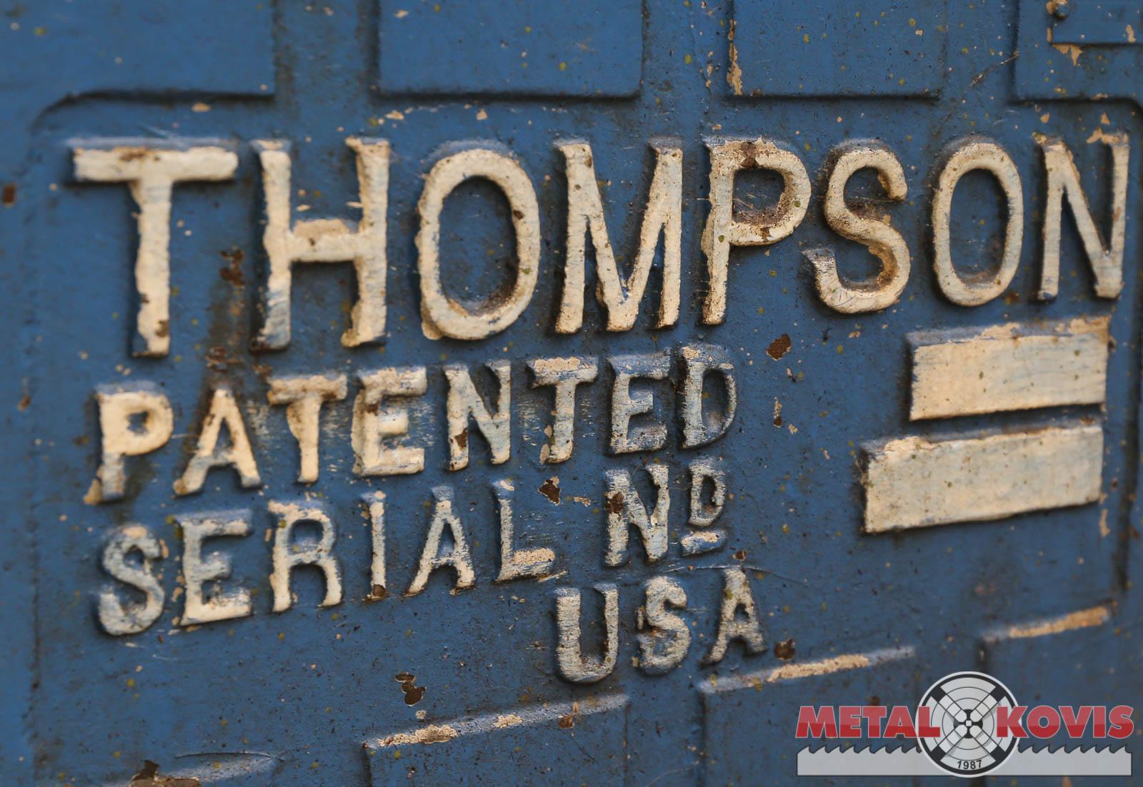 Brusilica planska Thompson 460×150 mm