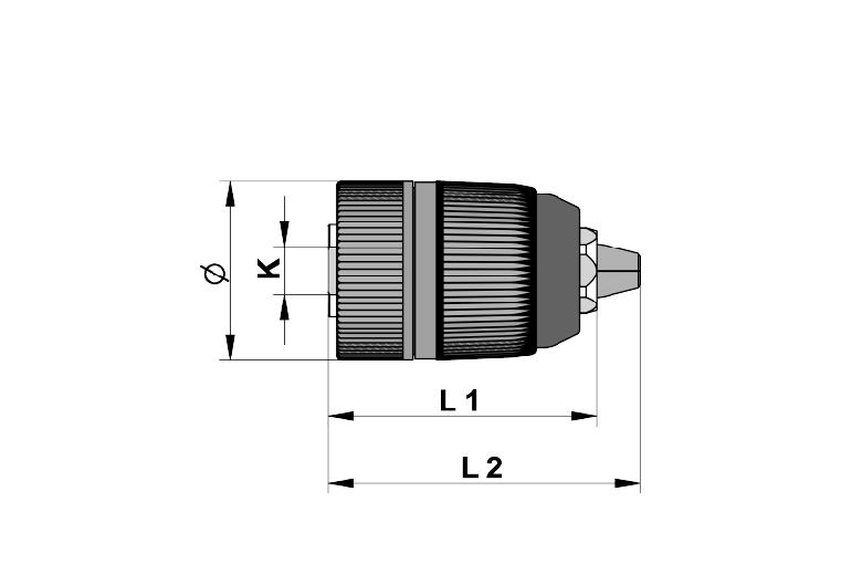 Samostezna glava (Borfuter), plastično tijelo, 1-10 mm