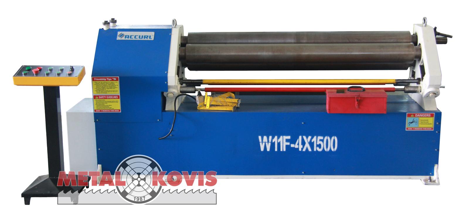 Valjci za savijanje lima W11F-4×1500 mm
