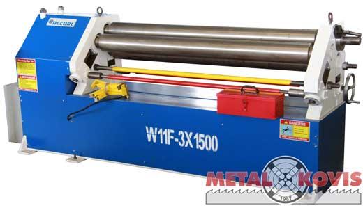 Valjci za savijanje lima W11F-3x1500 mm, Accurl