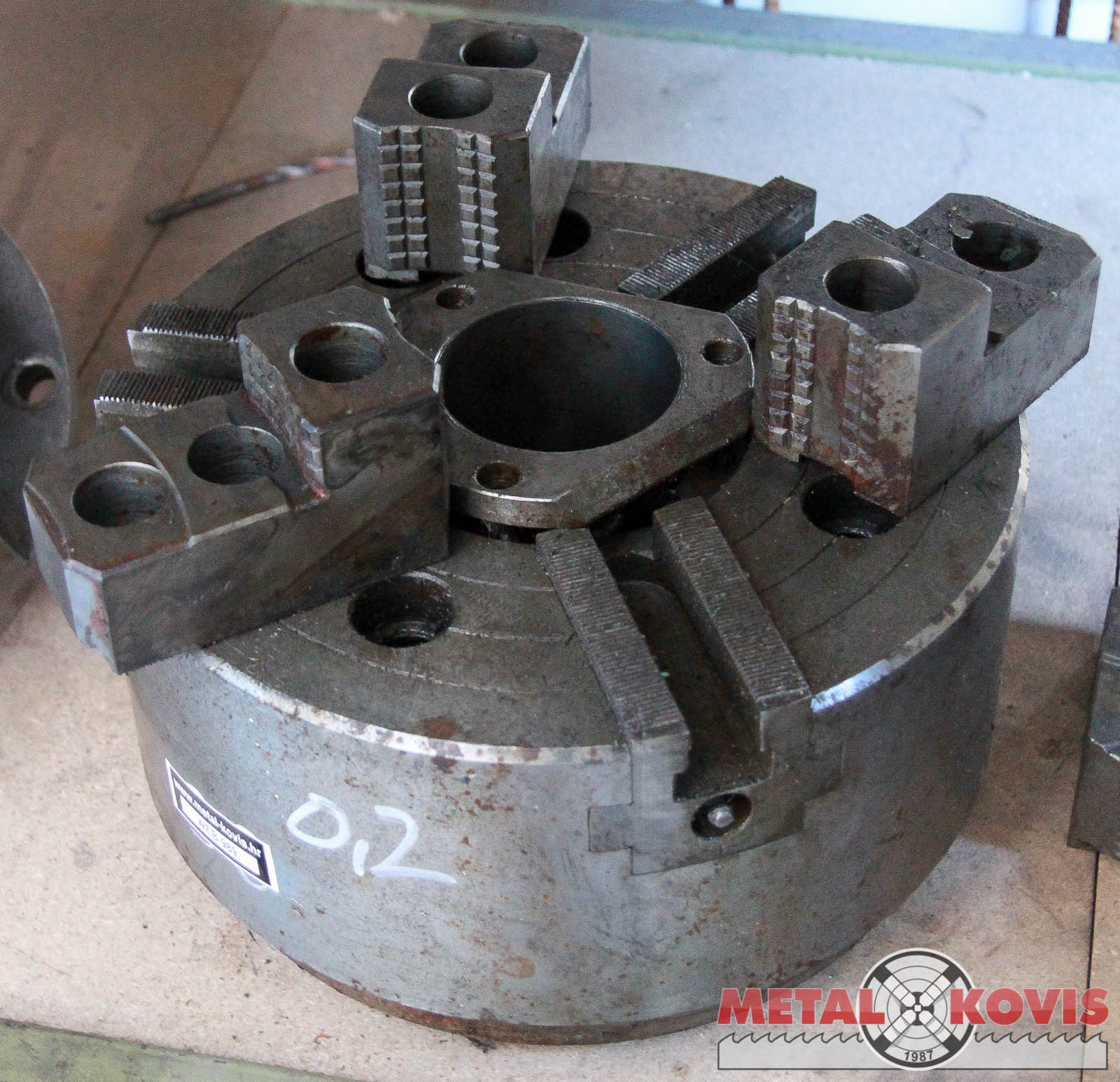 Stezna glava (amerikaner) CNC Ø250x3