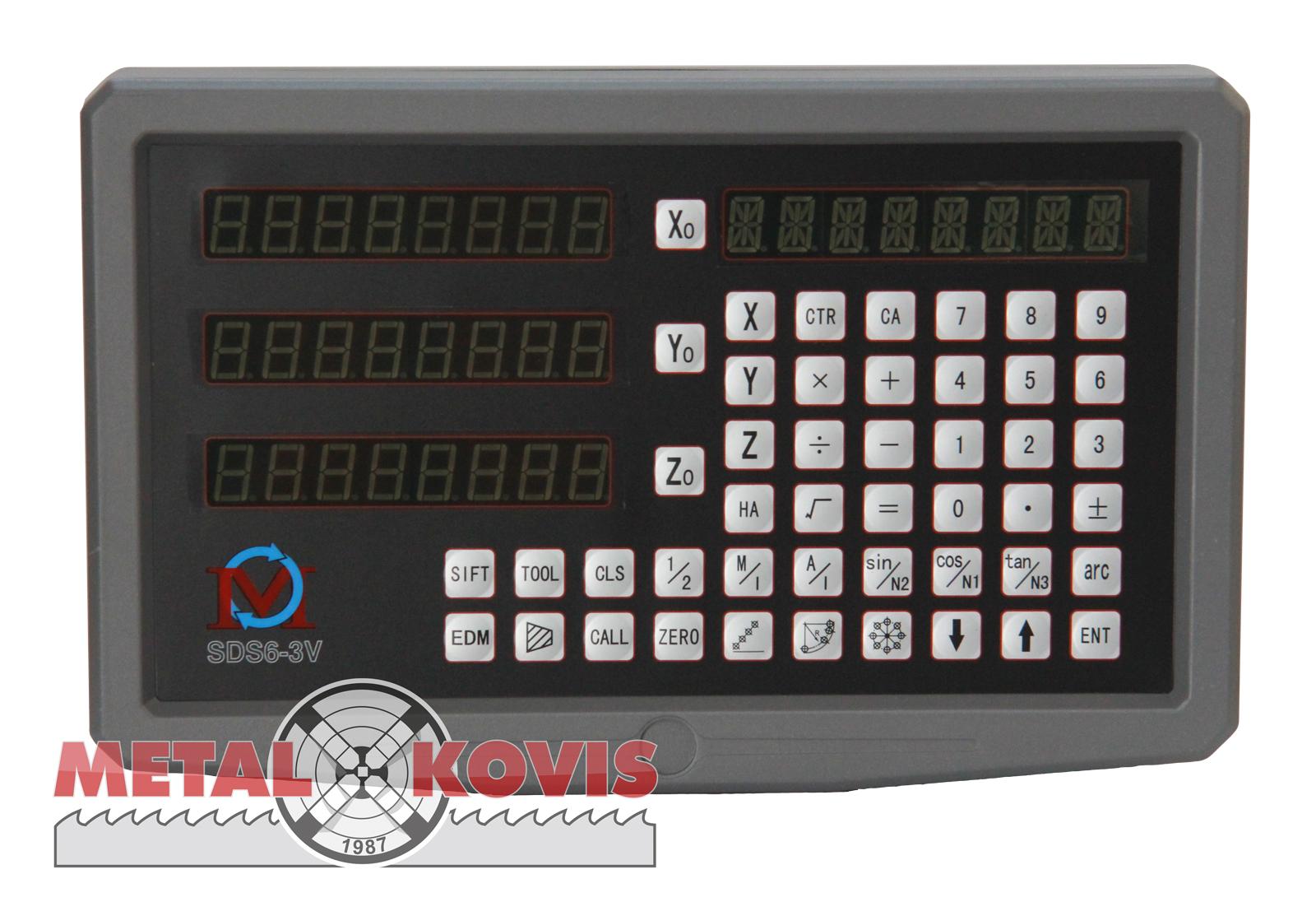 Digitalno očitanje SDS6-3 V