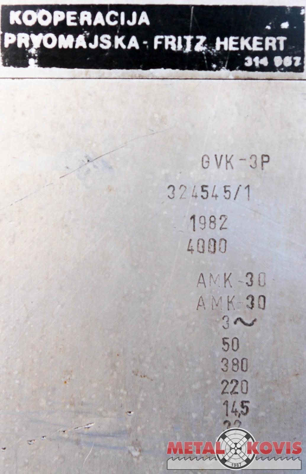 Glodalica Prvomajska GVK-3P