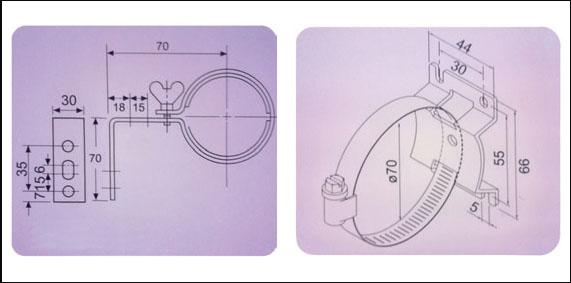 Svjetiljka LED za CNC, 14Wx2, (24V), AC/DC, 577mm, IP67