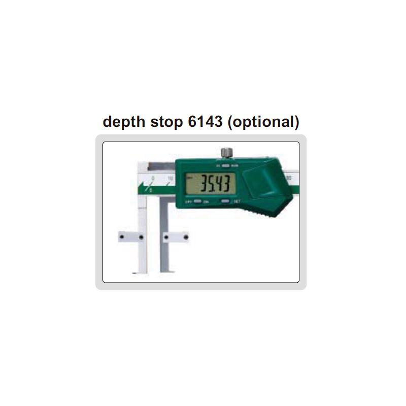 Pomično mjerilo, digitalno, za utor, 11-150 mm