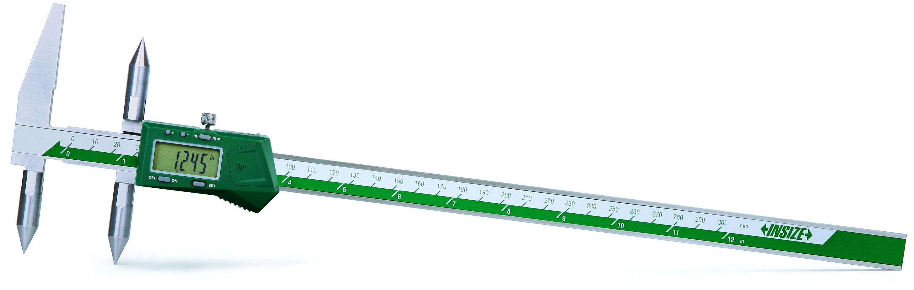 Pomično mjerilo, digitalno, za mjerenje centra, 5-300 mm