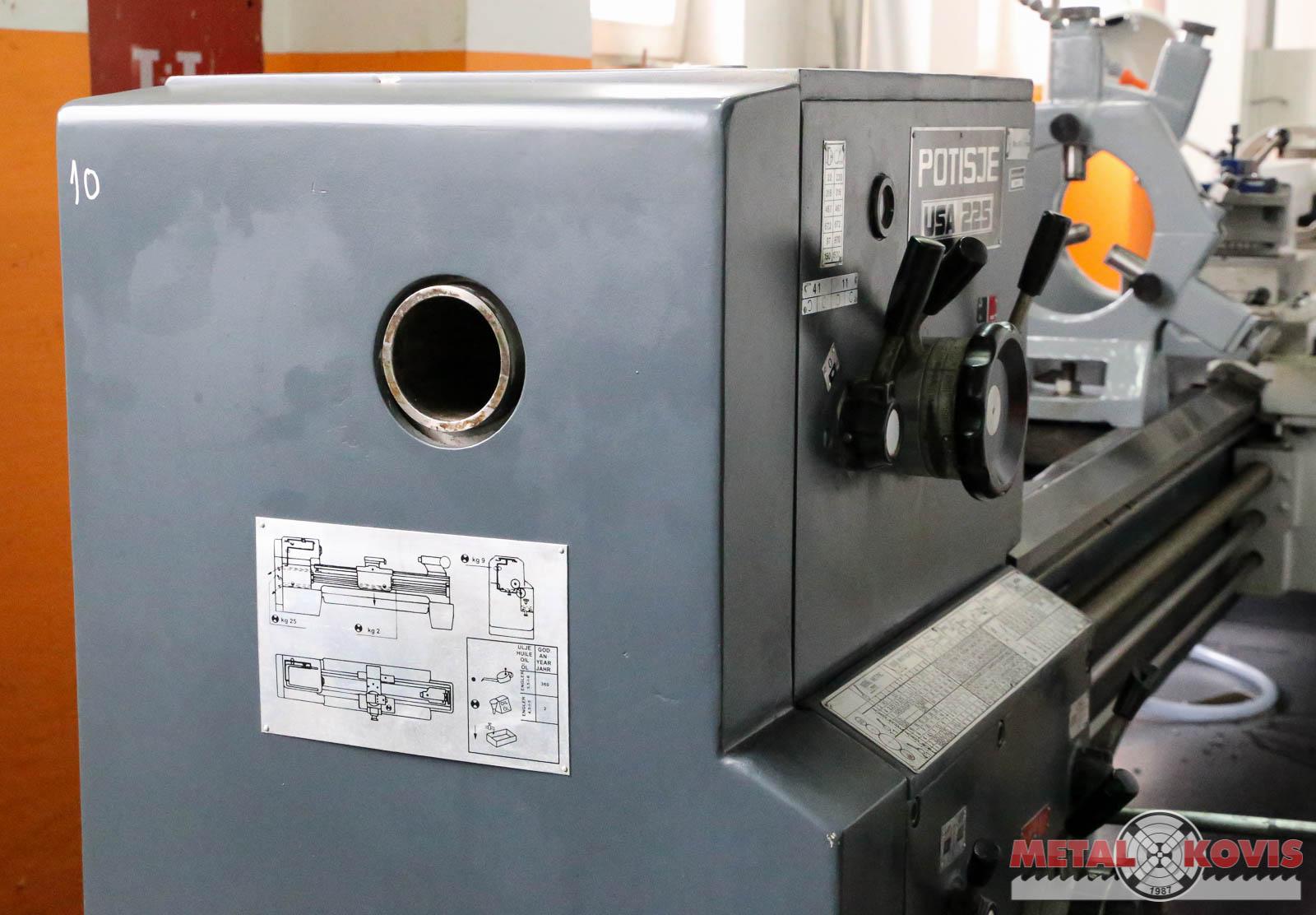 Tokarski stroj Potisje ADA USA 225 × 2000 mm