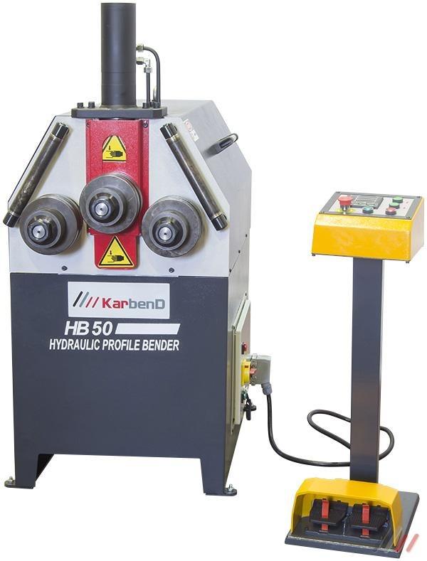 Savijačica cijevi i profila HB-50 hidraulična, Karmak