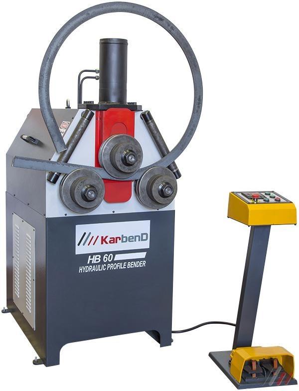 Savijačica cijevi i profila HB-60 hidraulična, Karmak