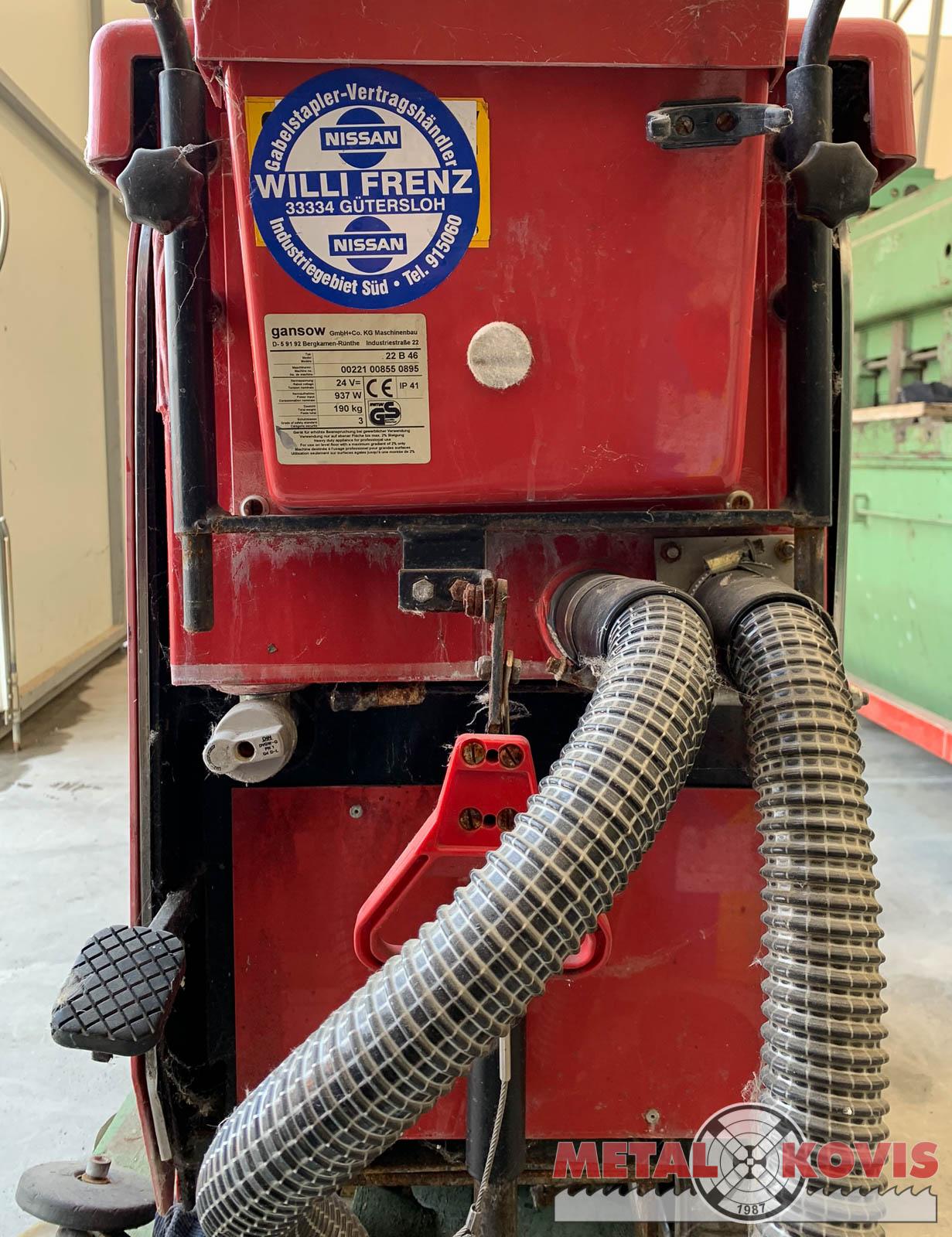 Stroj za čišćenje Gansow 22 B 46