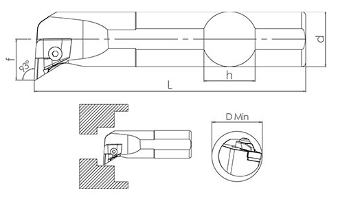 Držač pločice S32T CKUNR 16
