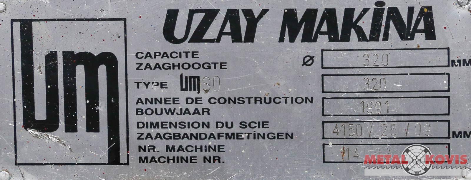 Tračna pila Uzay Makina Ø320 Price